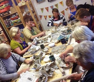 ladies pottery group
