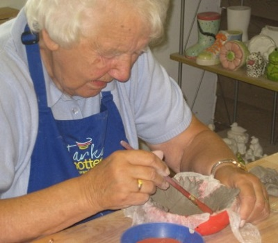pottery classes for older people