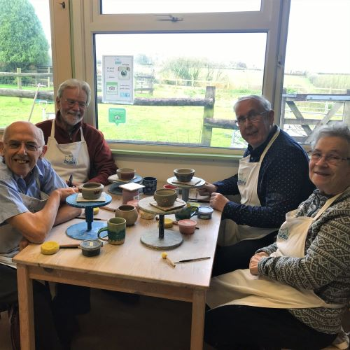 Adult pottery classes Torrington