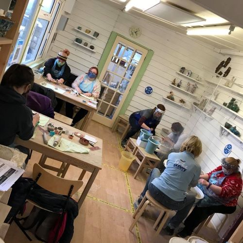 Clients and Carers pottery classes