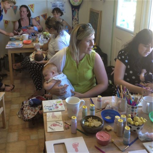 Parent and Toddler Pottery Groups