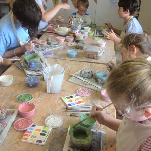 Pottery classes for Youth Groups